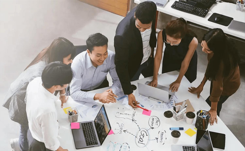 「伝える」だけでなく、自社内で定着・継続できる仕組みの提供